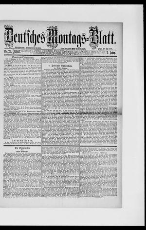 Berliner Tageblatt und Handels-Zeitung vom 19.07.1886