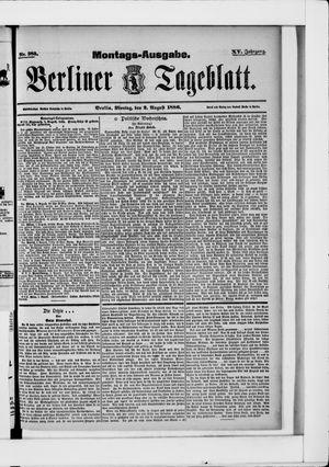 Berliner Tageblatt und Handels-Zeitung vom 02.08.1886