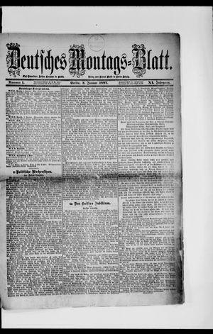 Berliner Tageblatt und Handels-Zeitung vom 03.01.1887
