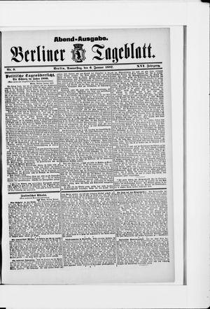 Berliner Tageblatt und Handels-Zeitung vom 06.01.1887