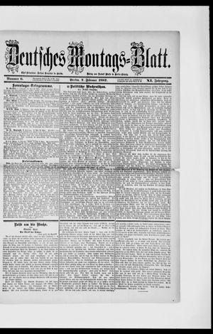Berliner Tageblatt und Handels-Zeitung vom 07.02.1887