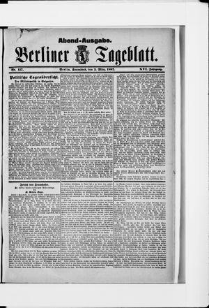 Berliner Tageblatt und Handels-Zeitung vom 05.03.1887