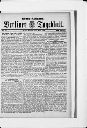 Berliner Tageblatt und Handels-Zeitung vom 09.03.1887