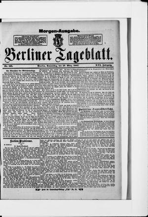 Berliner Tageblatt und Handels-Zeitung vom 10.03.1887