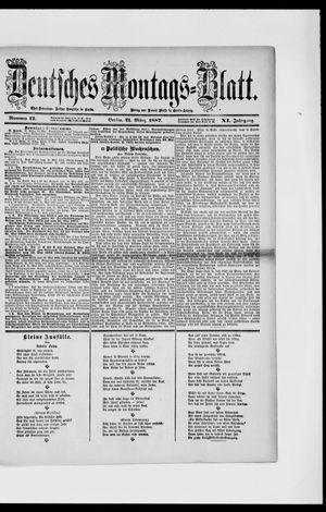 Berliner Tageblatt und Handels-Zeitung vom 21.03.1887