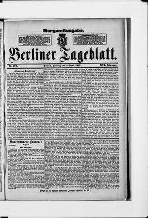 Berliner Tageblatt und Handels-Zeitung vom 03.04.1887