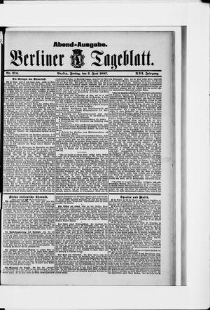 Berliner Tageblatt und Handels-Zeitung vom 03.06.1887
