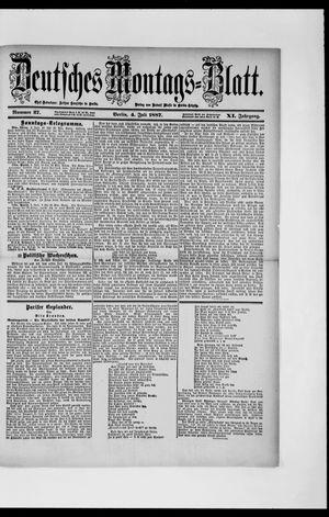 Berliner Tageblatt und Handels-Zeitung vom 04.07.1887