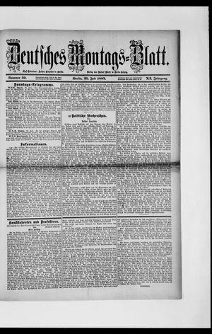 Berliner Tageblatt und Handels-Zeitung vom 25.07.1887