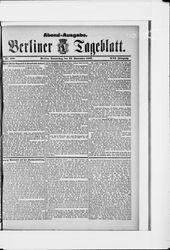 Berliner Tageblatt und Handels-Zeitung (22.09.1887)