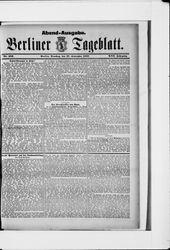 Berliner Tageblatt und Handels-Zeitung (27.09.1887)