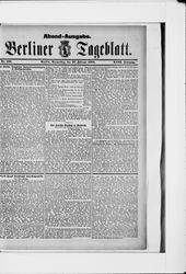 Berliner Tageblatt und Handels-Zeitung (23.02.1888)