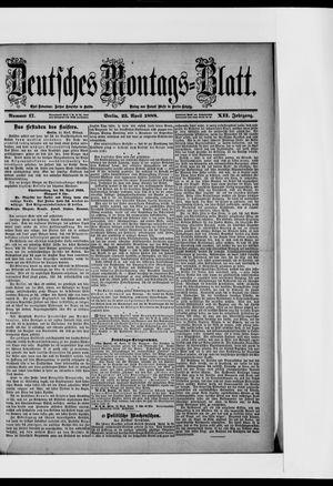 Berliner Tageblatt und Handels-Zeitung vom 23.04.1888