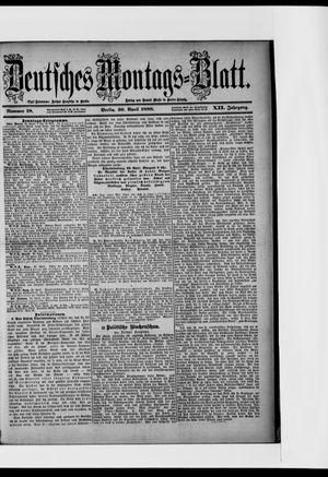 Berliner Tageblatt und Handels-Zeitung vom 30.04.1888