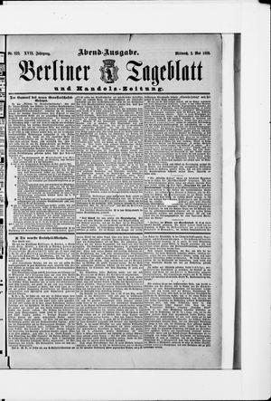Berliner Tageblatt und Handels-Zeitung vom 02.05.1888