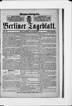 Berliner Tageblatt und Handels-Zeitung vom 05.05.1888