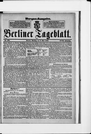 Berliner Tageblatt und Handels-Zeitung vom 08.05.1888