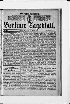 Berliner Tageblatt und Handels-Zeitung vom 12.05.1888