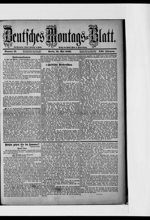 Berliner Tageblatt und Handels-Zeitung vom 21.05.1888