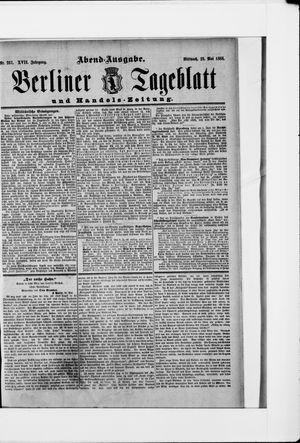 Berliner Tageblatt und Handels-Zeitung vom 23.05.1888
