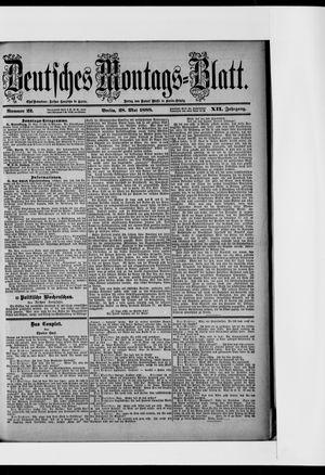 Berliner Tageblatt und Handels-Zeitung vom 28.05.1888