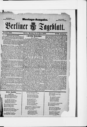 Berliner Tageblatt und Handels-Zeitung vom 02.07.1888