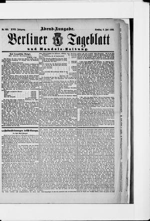 Berliner Tageblatt und Handels-Zeitung vom 03.07.1888