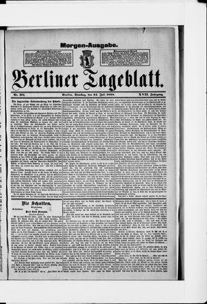 Berliner Tageblatt und Handels-Zeitung vom 24.07.1888
