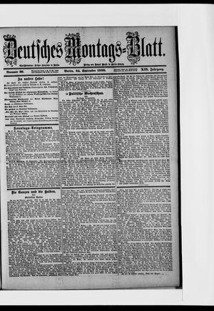 Berliner Tageblatt und Handels-Zeitung vom 24.09.1888