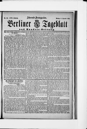 Berliner Tageblatt und Handels-Zeitung vom 17.12.1888