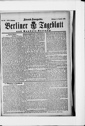 Berliner Tageblatt und Handels-Zeitung vom 19.12.1888