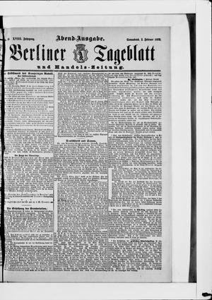 Berliner Tageblatt und Handels-Zeitung on Feb 2, 1889