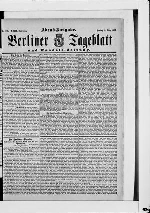 Berliner Tageblatt und Handels-Zeitung vom 08.03.1889