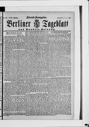 Berliner Tageblatt und Handels-Zeitung vom 09.03.1889