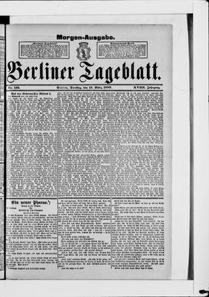 Berliner Tageblatt und Handels-Zeitung vom 12.03.1889