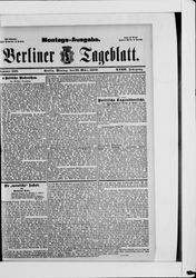 Berliner Tageblatt und Handels-Zeitung (18.03.1889)