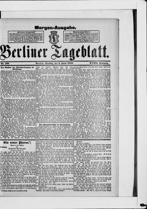 Berliner Tageblatt und Handels-Zeitung vom 02.04.1889