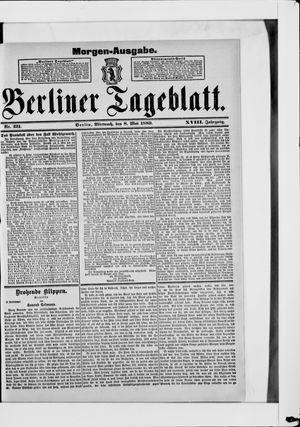 Berliner Tageblatt und Handels-Zeitung vom 08.05.1889