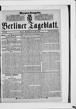 Berliner Tageblatt und Handels-Zeitung vom 09.05.1889