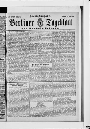 Berliner Tageblatt und Handels-Zeitung vom 17.05.1889