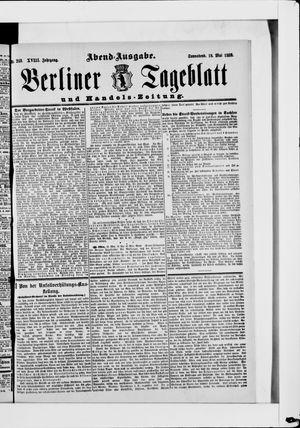 Berliner Tageblatt und Handels-Zeitung vom 18.05.1889