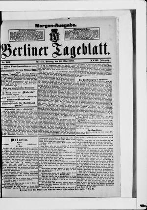 Berliner Tageblatt und Handels-Zeitung vom 26.05.1889