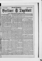 Berliner Tageblatt und Handels-Zeitung (28.05.1889)