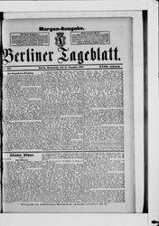 Berliner Tageblatt und Handels-Zeitung (14.12.1889)