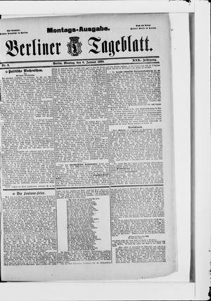 Berliner Tageblatt und Handels-Zeitung vom 06.01.1890