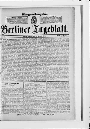 Berliner Tageblatt und Handels-Zeitung vom 31.01.1890