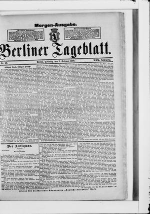 Berliner Tageblatt und Handels-Zeitung vom 02.02.1890