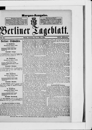 Berliner Tageblatt und Handels-Zeitung vom 02.03.1890