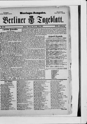 Berliner Tageblatt und Handels-Zeitung vom 03.03.1890