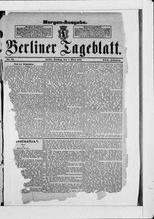 Berliner Tageblatt und Handels-Zeitung vom 04.03.1890